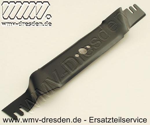 Messerbalken 475 mm, gekröpft, mit Luftschlitzen, ZB 20,4 mm, AL 10,3 mm, AB 40 mm
