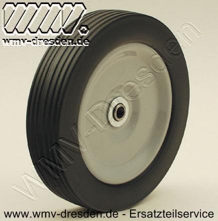 Laufrad >>> Außen 200 mm, Achse 12 mm, Radbreite 44,7 mm, Nabenlänge 37 mm <<<