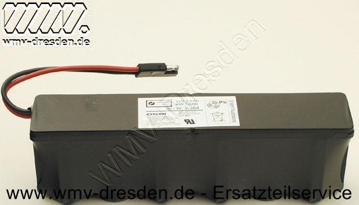 BATTERIE 12V2,5AH HOLMMONTAGE MB1225L  220X40X65   !!!UNGELADEN!!!