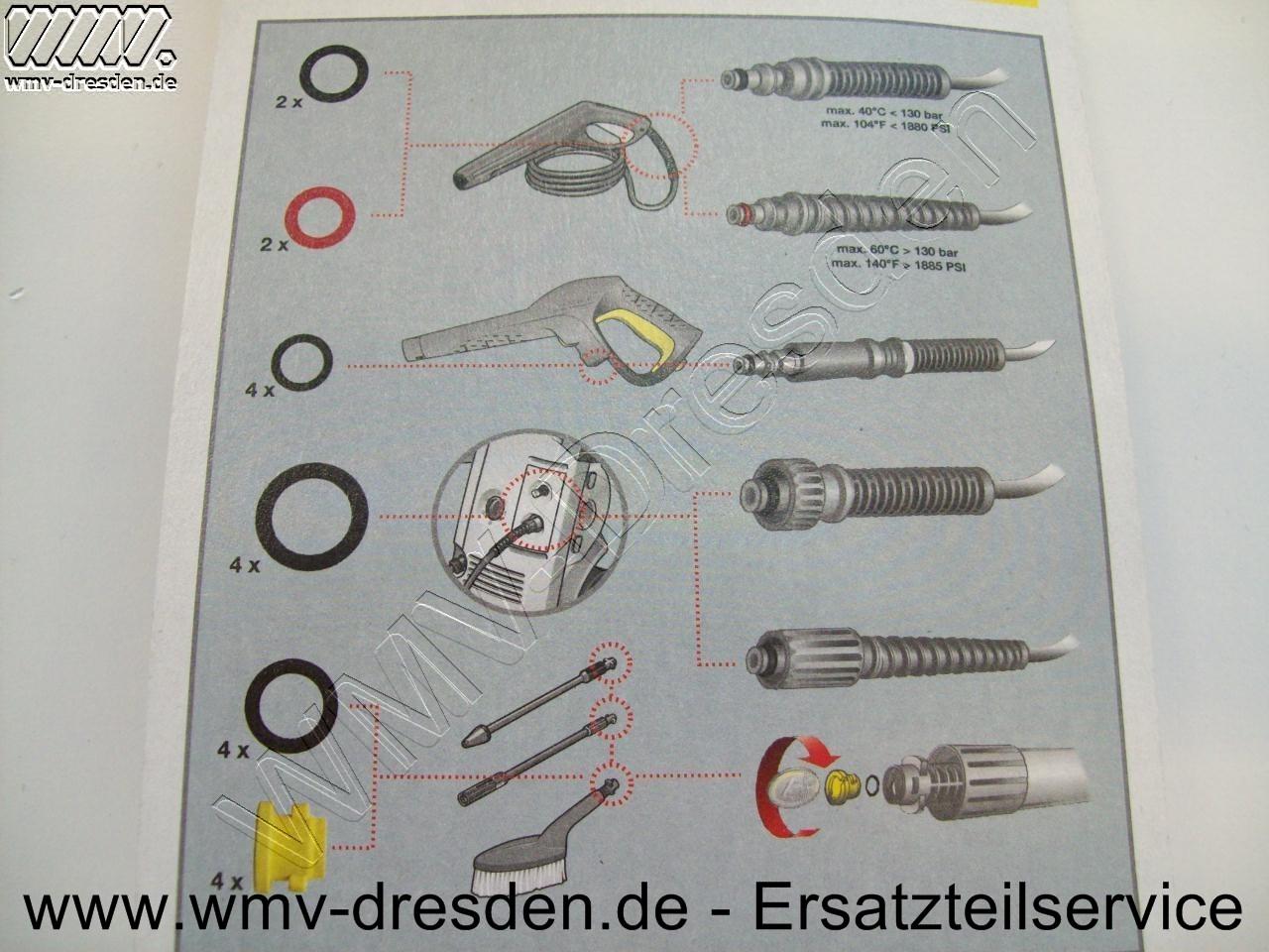 O-Ring Set - Inhalt siehe Foto