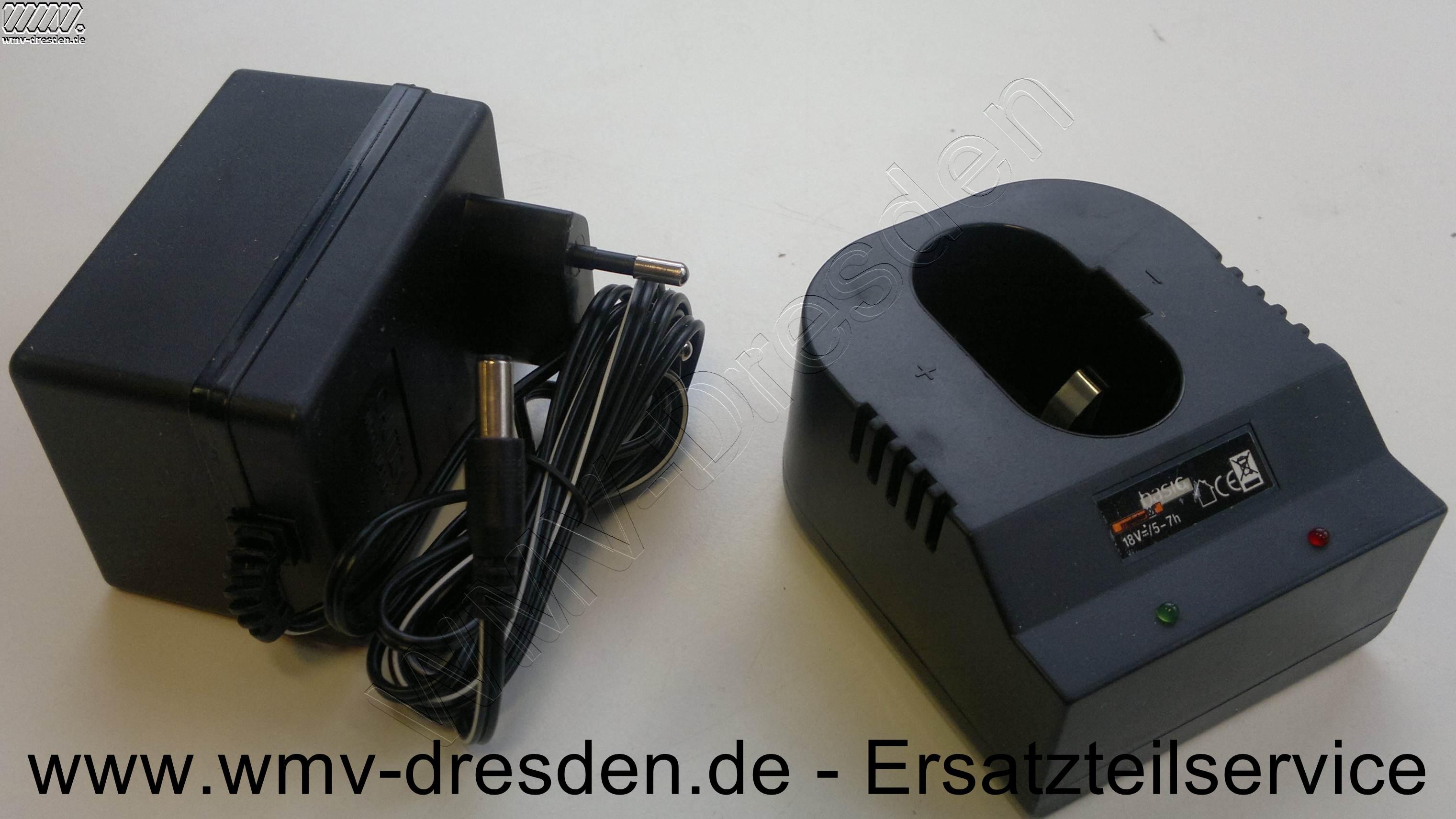 Ladegerät für Akkus von 16-20 V - siehe Gewährleistungshinweise -