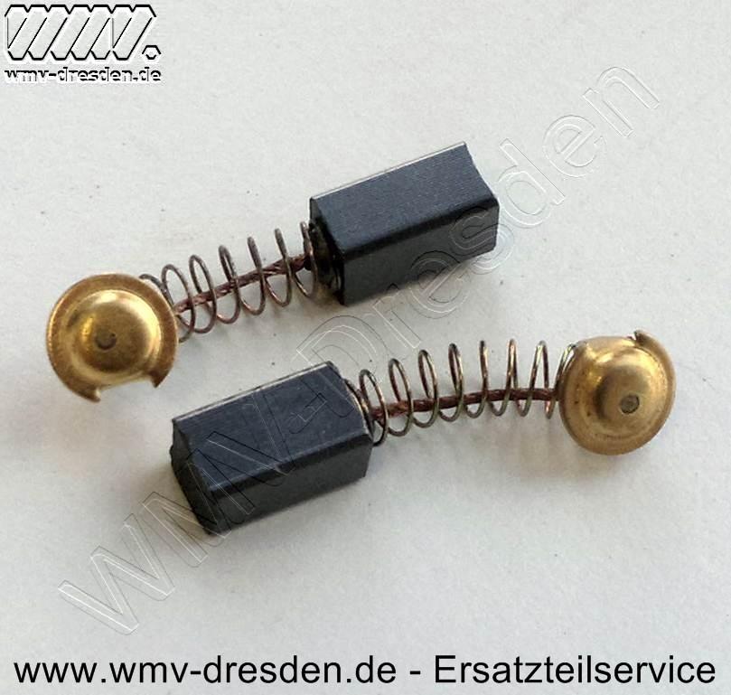 Kohlebürstenpaar  7,4 x 6,4 mm für KWS 860