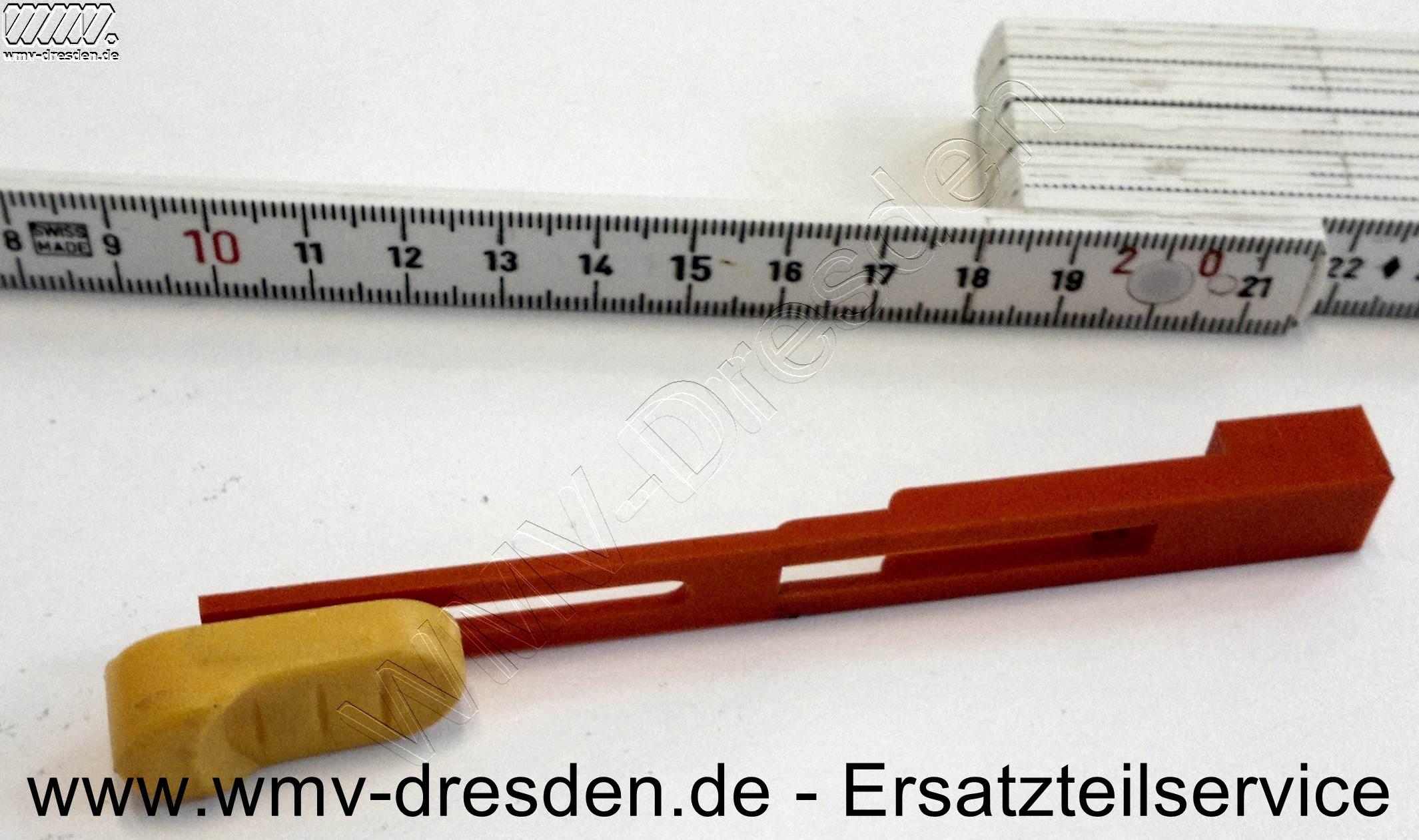 Schiebeknopf mit Zugstange für KWS und MWS 860