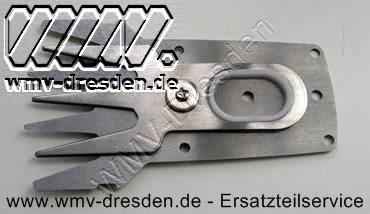 Grasmesser mit Plastik-Exzenterbuchse 2001436 für TGS  >>> 8 cm Arbeitsbreite, Länge 14 cm <<< Bitte Zusatzinfos beachten !!!