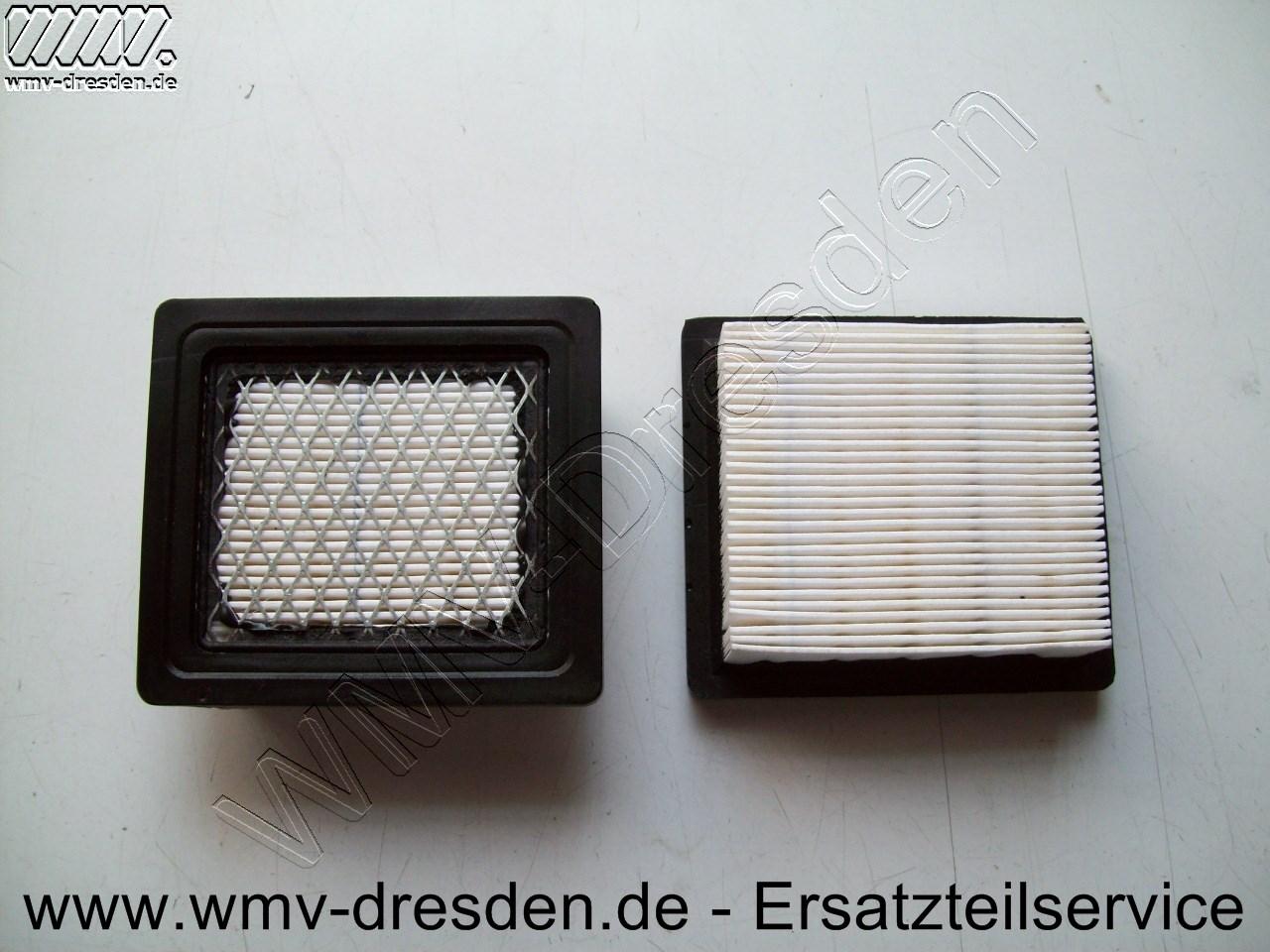 Luftfilter L 98 mm, B 87 mm, H 32 mm