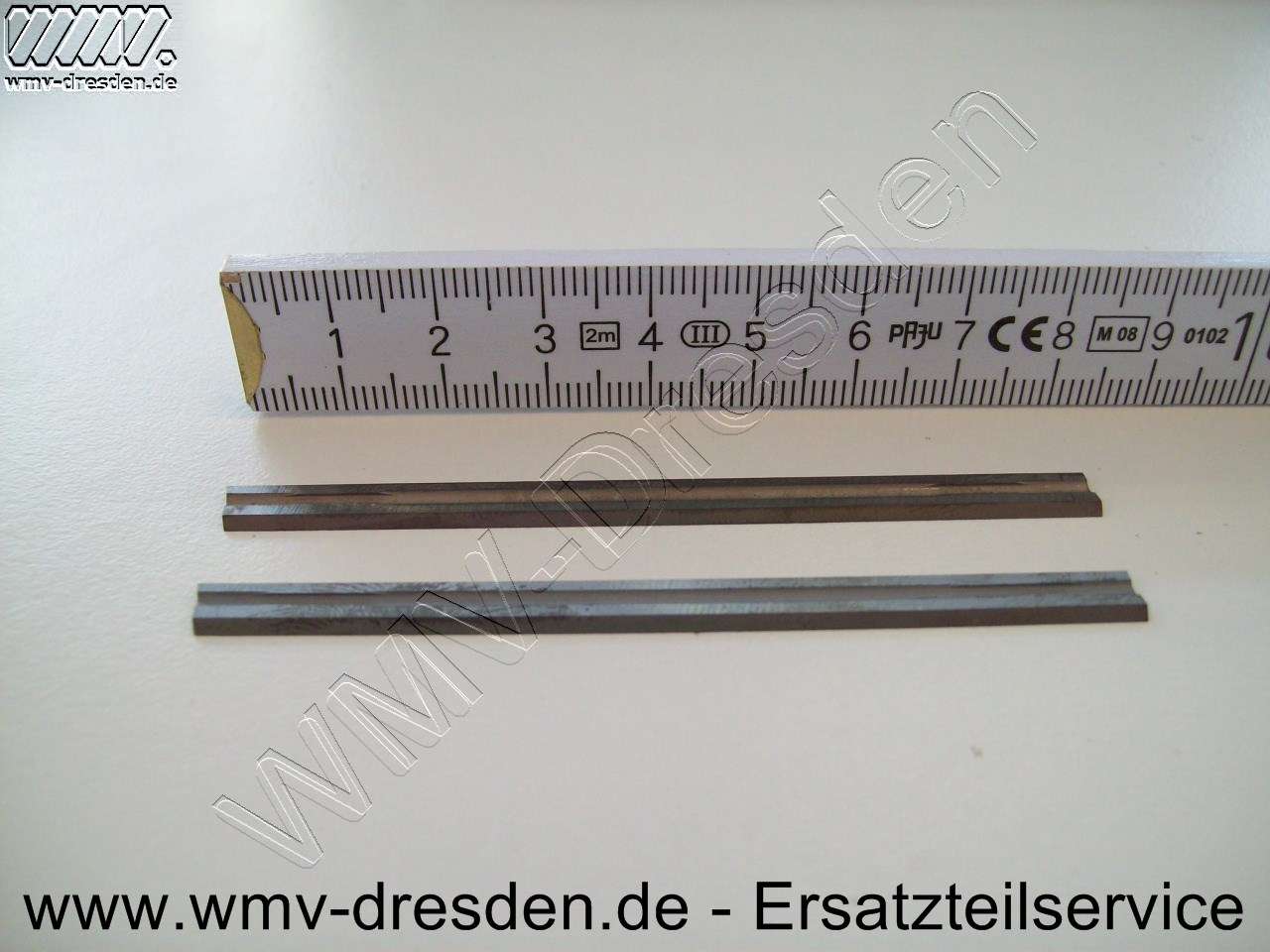 2 Hobelmesser HM 82 mm fine cut