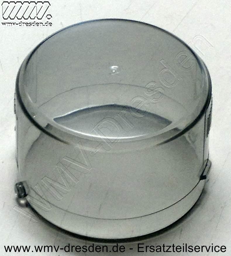 Abdeckhaube für Filter