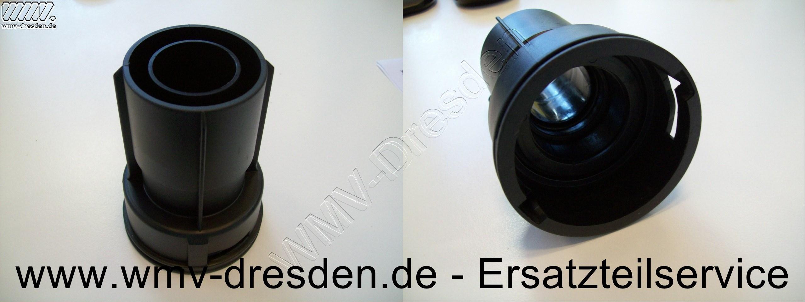 Anschluss von Sauger zum Schlauch mit D 35 mm