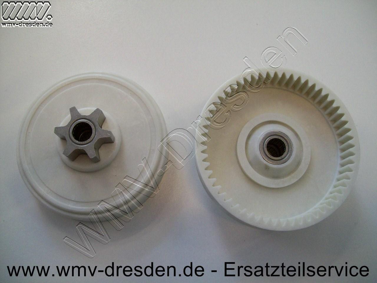 Kunststoff-Kettenritzel mit Nadellager >>> D 8,8 cm <<<