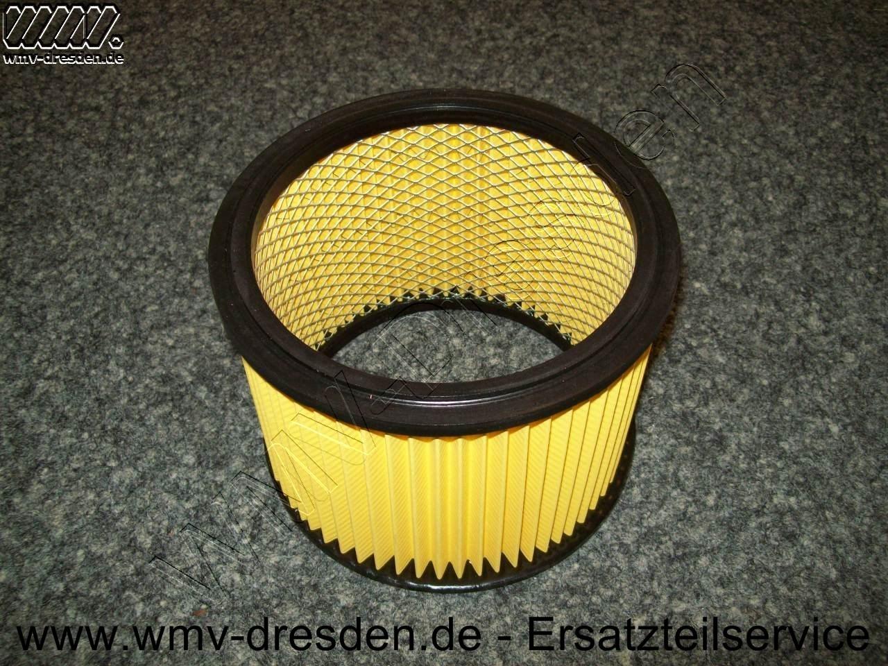 Trockenfilter / Faltenfilter NTS, Höhe 140 mm, Außen 185 mm, Innen 150 mm