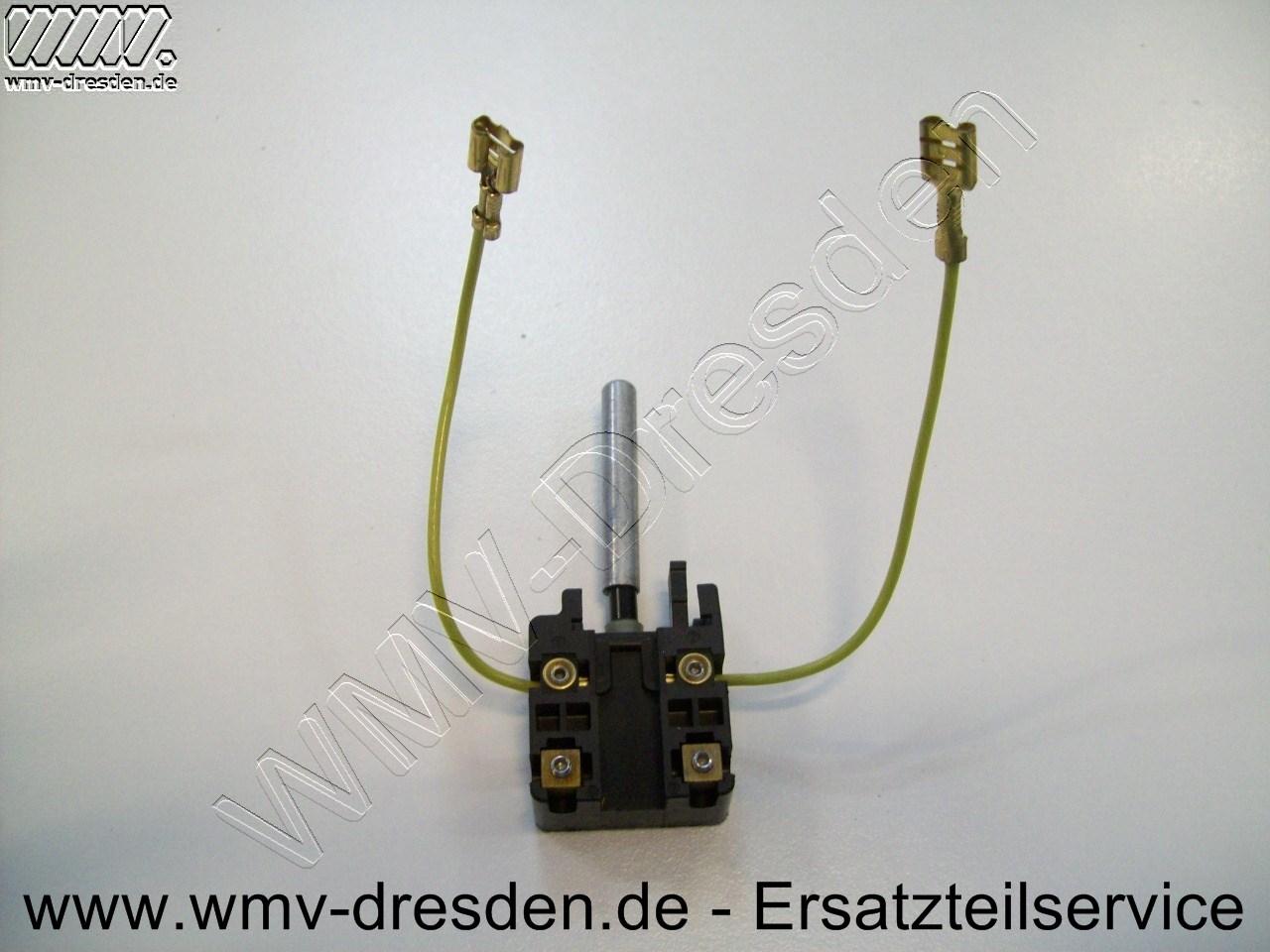 SCHALTER,STIFT,M.INB.SCHR.U.LITZEN - nur Schalter, ohne oberes oder unteres Gehäuse