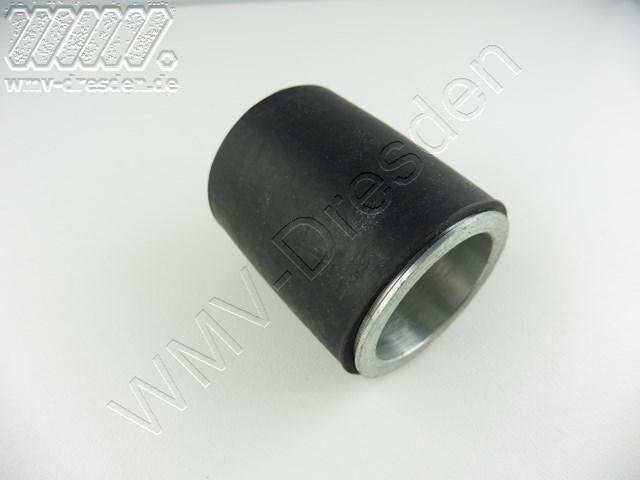 Antriebsrolle mit Gummi für KBS 850 / 900 Bandschleifer >>> D 42,5 mm , L 50 mm <<< nach Abverkauf nicht mehr verfügbar !!!