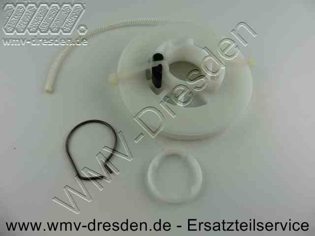 Anwerfvorrichtung Kpl (Seilscheibe mit Seil und Rückzugsfeder)