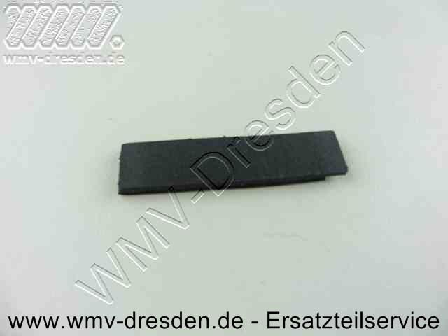 Armplatte fuer Elektrofeile 50 x 12 x 3 MM