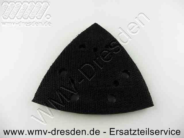 Klett-Schleifplatte ( dreieckig ) für TDR/ KDR 280 E