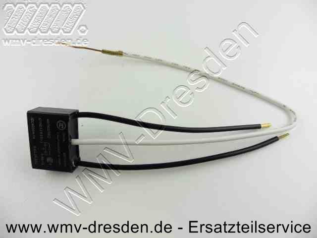 Entstoerkondensator 26x18x10 mm, 0,22 mF, flach, 3 Anschlüsse, Kabellänge 10 und 25 cm !!! siehe Zusatzinfos !!!