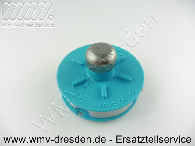 Fadenspule, türkisfarben, ab Baujahr 1999 für Turbotrimmer 230 A, 230 AL,  350, 370  und Trimmersense 350, 350 L