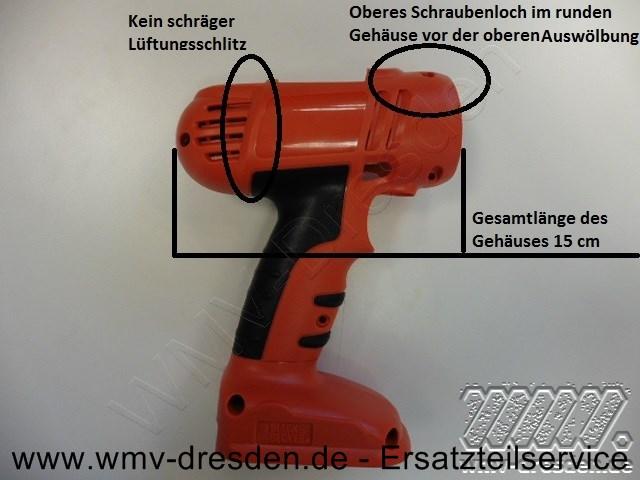 GEHÄUSE FÜR AKKUSCHRAUBER - ACHTUNG - MAßE UND FOTO BEACHTEN!!!
