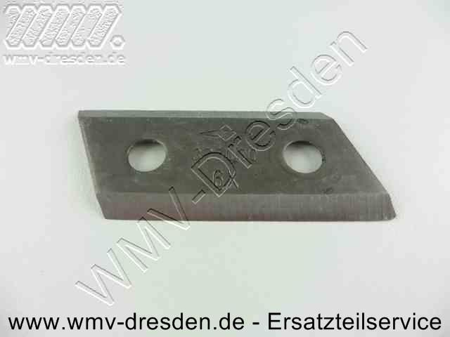 1 Häckslermesser für Alko H1100, H1300, H1600 Bj. 03/97, H3200  ohne Schrauben >>> Schrauben 503616-ALK ggf. extra bestellen