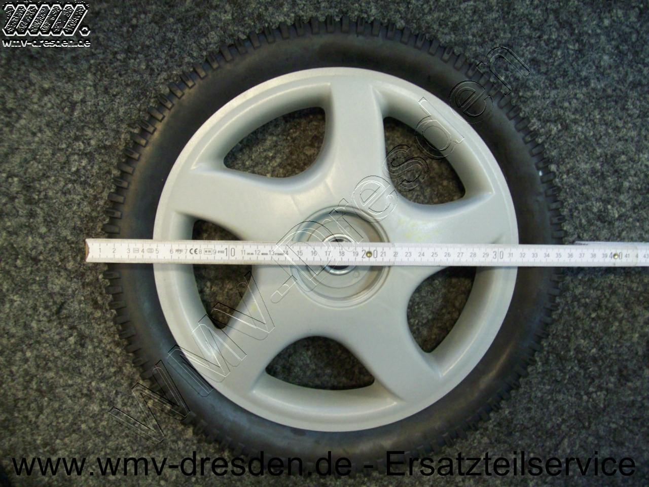 Hinterrad  - Durchmesser 36 cm / 14 Zoll