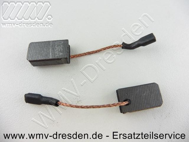Kohlebuerstenpaar  AGP 125-14 D mit Anschlusskabel