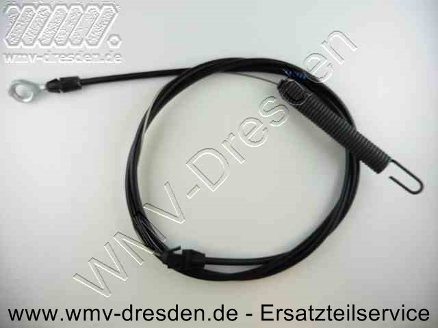 Kupplungskabel / Bowdenzug - Anschlüsse 1 x Oese, 1 x Feder >>> Gesamtlaenge 1,98 M