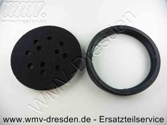 Klett-Schleifteller mit Manschette >>>  D 125 mm  <<<