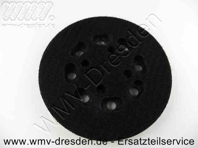 Klett-Schleifteller D 125 mm >>> rund <<<