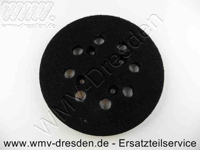 Klettschleifplatte D 120 mm