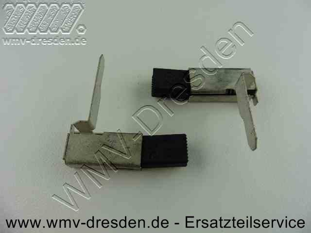 Kohlebürstenpaar mit Halter 230V