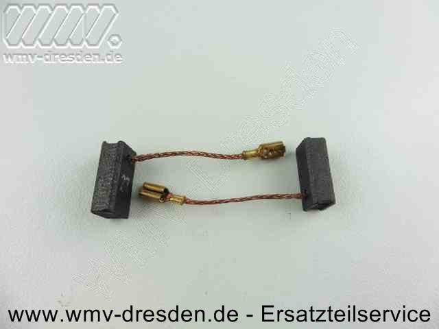 Kohleburstenpaar ohne Halter 5mm x 8mm x 16,5mm