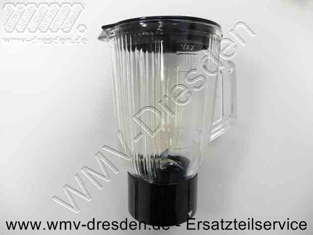 Mixbehälter Glas mit Messer und Deckel für alle Quigg KM 2010 >>> nach Abverkauf nicht mehr verfügbar <<<