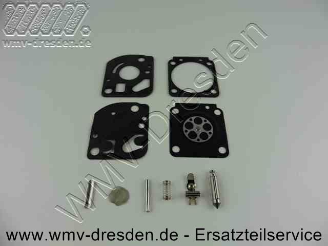 Rebuild Kit / Reparatursatz (Dichtungen, Membranen, Nadel, Wippe, Feder, Welle, Benzinfilter)
