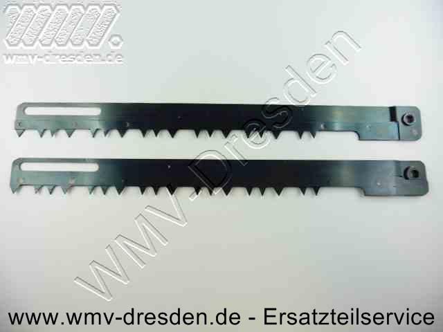 Doppel-Sägeblatt grob BD 380 / KS 380 >>> Gesamtlänge 290 mm, Arbeitslänge 240 mm <<<