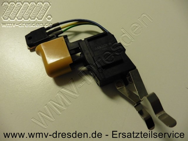 Schalter kpl. - Kontaktfahnen unten 40 mm lang