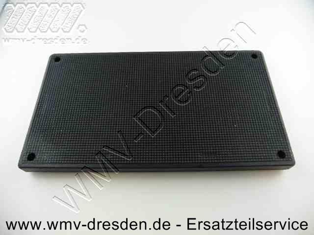 Schleifplatte 983001, rechteckig 210x115 m für Schleifpapier ohne Klettverschluss, ungelocht, SS 70 und SSPF