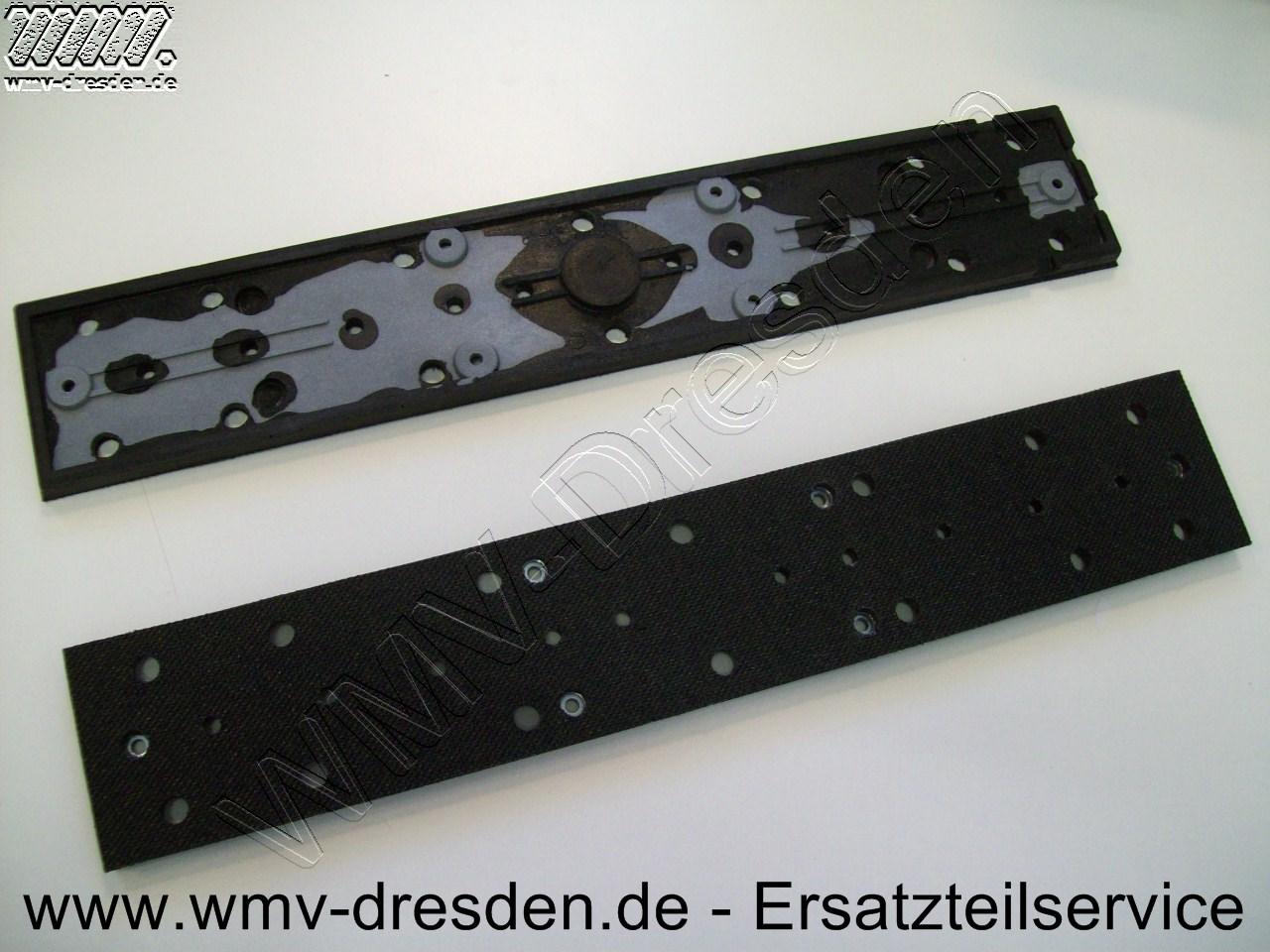 Schleifschuh mit Klettverschluss für Rupes SLP 41 A / SL 42 AE / SL 42 AEV  >>> 400x79 mm <<<