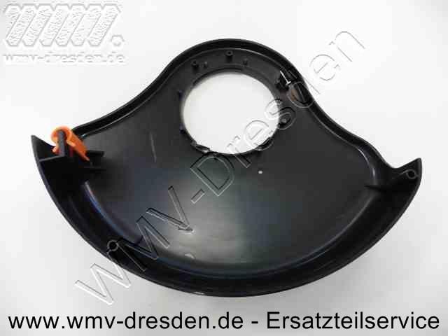 Schutzabdeckung RT 4000 / RTD 29 schwarz 29 cm inkl. Faden-Schneidklinge