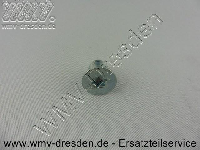 Sechskanntschraube M8X10 für Häckslermesser