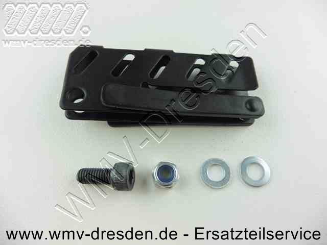Spitzenschutz (mit einseitigem Haltebolzen) für Aligator / Reparaturkit Blatthalter