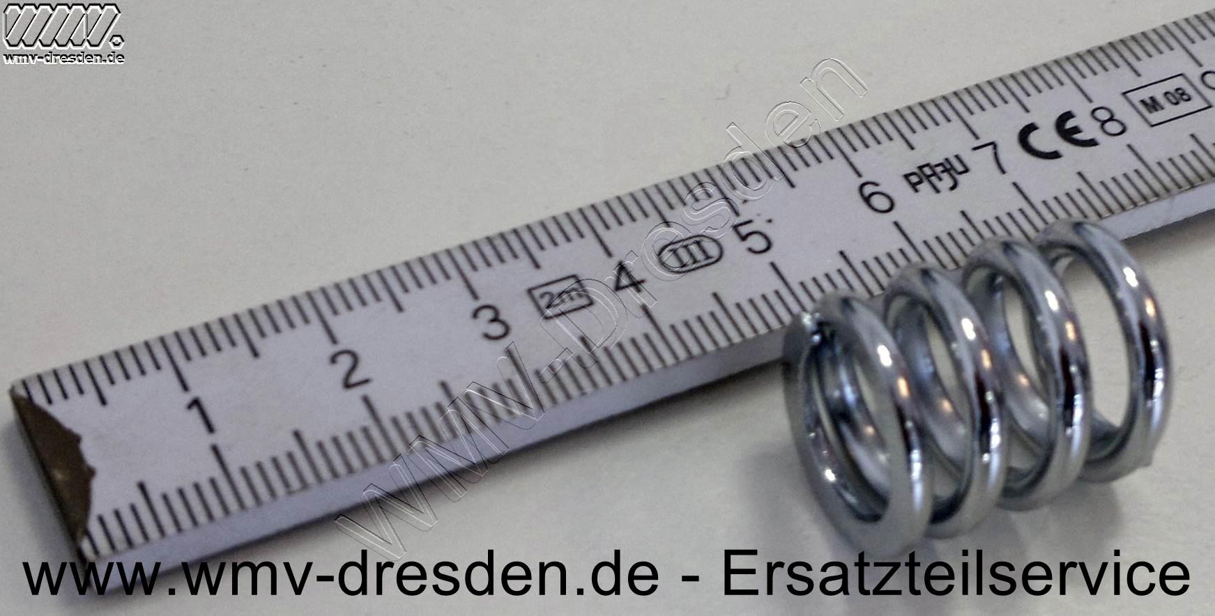 Spiralfeder für FW 550.04