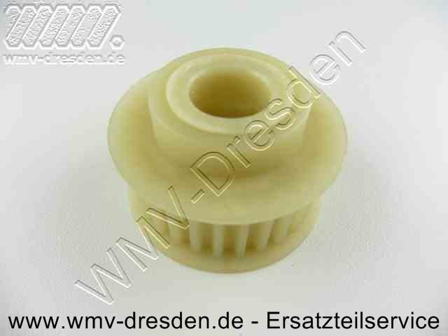 Zahnrienemscheibe Antrieb für Messerwelle >>> Plastik , 48 mm Außendurchmesser <<<