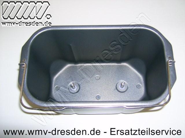 Teigbehälter / Backform für Brotbackautomat BB 1350.02 + 1350.04 + 1350.06+1350.07