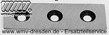 Häckslermesser Lescha 56787 und 52645, 1 Stück für  ZAK Junior, Super ZAK, ZAK 2700, ZAK 3500