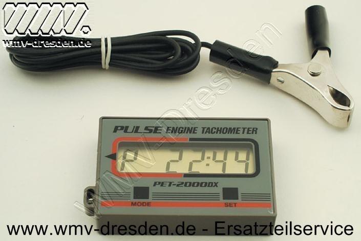 DREHZAHLMESSER PET-2000 - siehe Zusatzinfos -