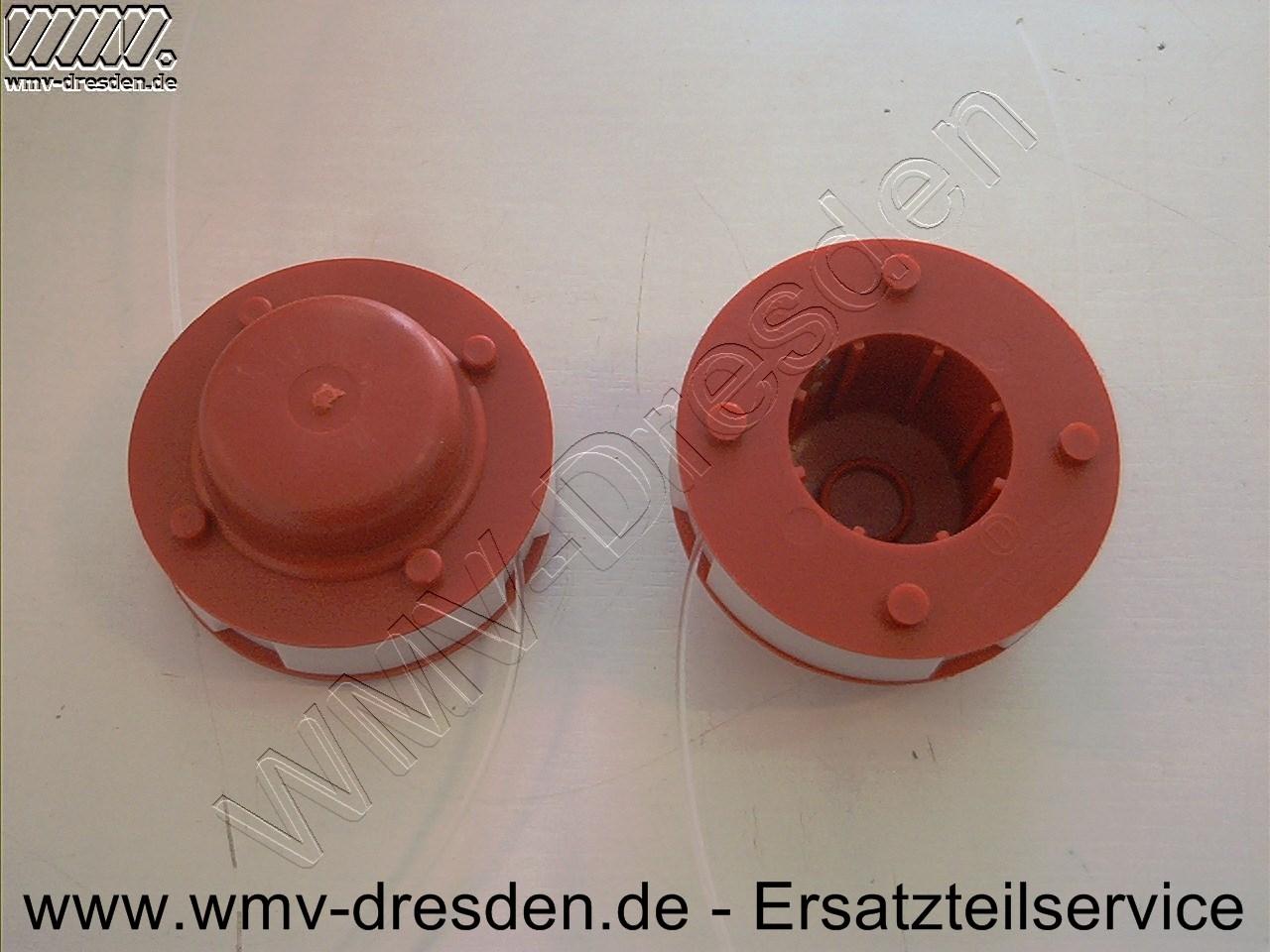 Fadenspule RTD 23, RTD 29, Rasant RTD 429, RT 2107  Außendurchmesser 70mm, rot oder schwarz