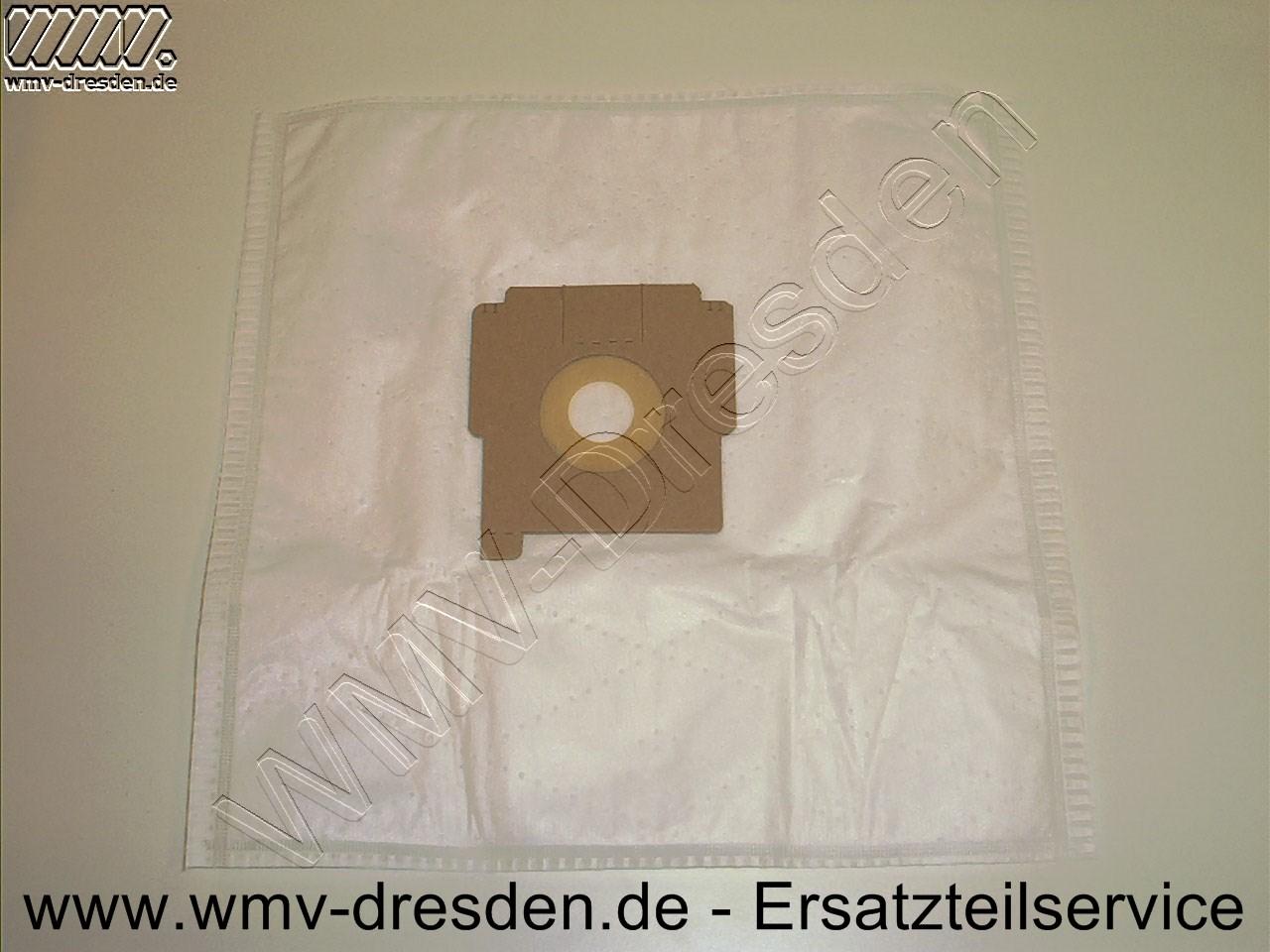 Saugerbeutel MicroFlies 4er-Pack für Quigg  QU103, BS 1700.06, 2200.05, 2200.06, 2200.07 und 2200.08