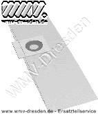 Staubsaugerbeutel 63 mm Öffnung Papier 5er-Pack für Sauger Quigg  NTS 1000