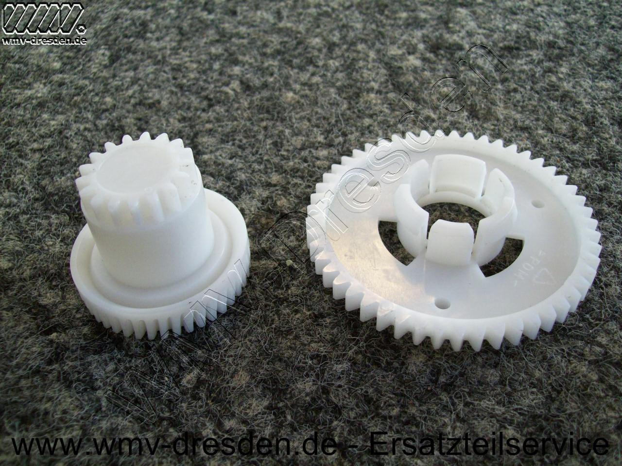 Zahnradsatz (großes und kleines Zahnrad) für Schneidmesserantrieb AS 130