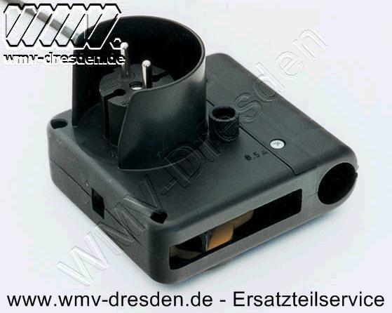Schalter-Stecker-Kombination 10 Ampere